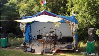 First Chagstock stage