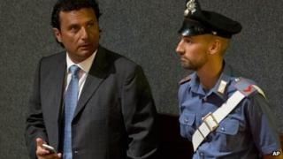 Francesco Schettino (17 July 2013)