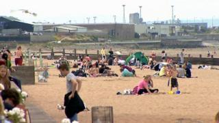 Scottish beach