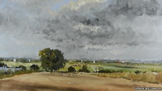 From the Horning Road (detail) by Kieron Williamson