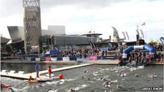 Great Swim Salford Quays
