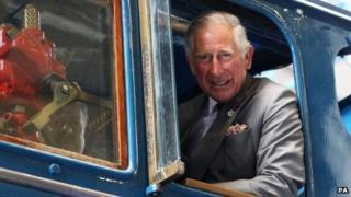 Prince Charles at NRM