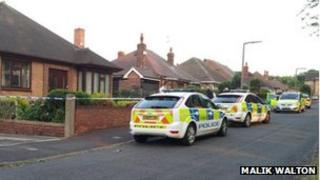 Police on Sandygate