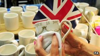 Royal mugs