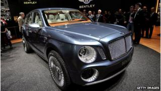 Bentley EXP 9F concept car