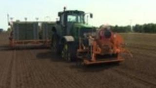 GPS tractor