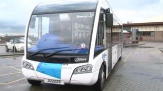A LibertyBus bus