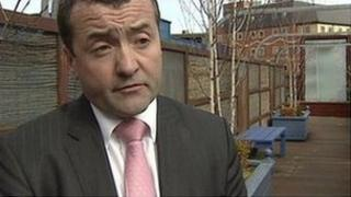 Declan Gormley was awarded damages of £80,000