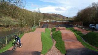 Trehafod BMX track, Porth