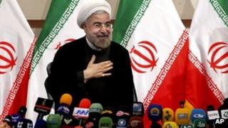 Iranian president-elect Hassan Rouhani