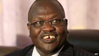 Riek Machar (May 2011)