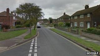 View along Exeter Road, Gorleston