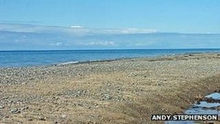 Coast near Blue Point on Isle of Man