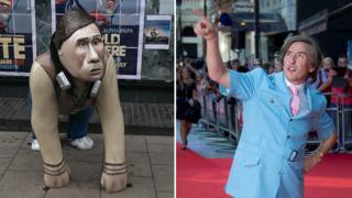 Alan Partridge Go Go Gorilla and Steve Coogan as Alan Partridge