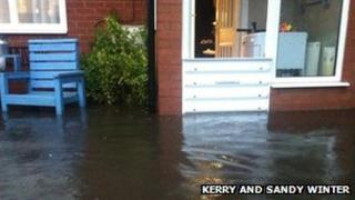 Flood in Swadlincote