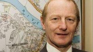 Ian Parker, Middlesbrough Council