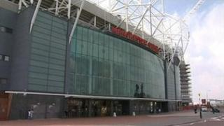 Manchester United's ground at Old Trafford