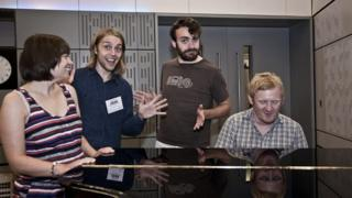 Rob and Kate are joined by Tom and Dougie from improv comedy group Racing Minds