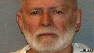 "Alleged gang boss James ""Whitey"" Bulger"