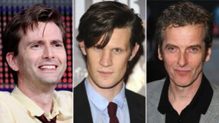 David Tennant; Matt Smith; Peter Capaldi