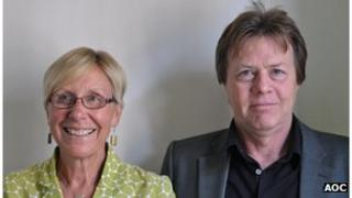 Joy Mercer and Nick Davy