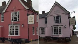 Marco Pierre White's Angle Hotel in Lavenham
