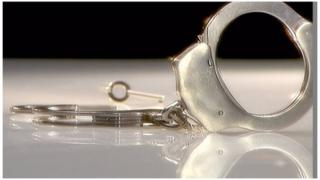 Handcuffs and key - generic