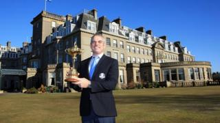 The tournament will be held at the Gleneagles Hotel in September next year