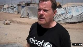 Eddie Izzard in Iraq