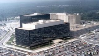 The National Security Agency headquarters in a file photo