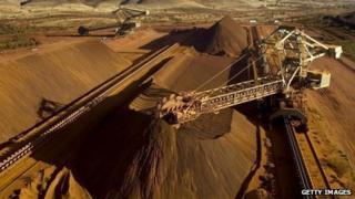 Iron ore mining in Australia
