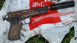 Browning pistol