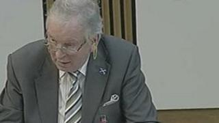 Bill Walker the Scottish Parliament