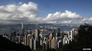 Hong Kong skyline (file pic June 2013)