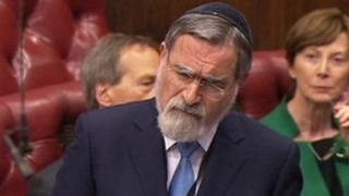 Chief Rabbi Lord Sacks