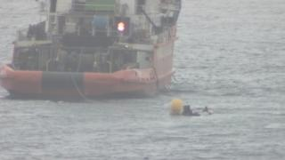 Coastguard authorities are continuing the recovery operation