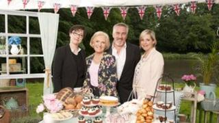 Sue Perkins, Mary Berry, Paul Hollywood, Mel Giedroyc