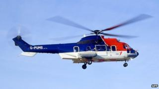 AS 332 L2 helicopter
