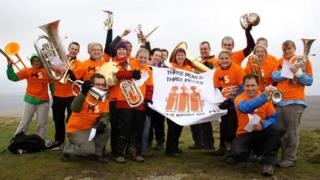 Three Peaks Brass Band