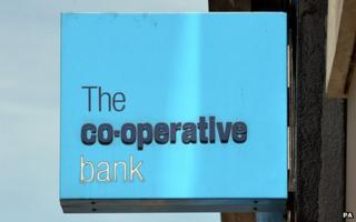Cooperative bank sign