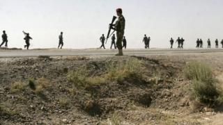 Afghan police in Ghazni province