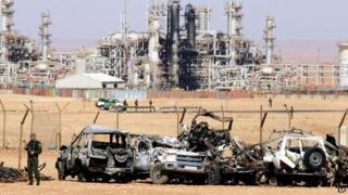 In Amenas gas plant in Algeria