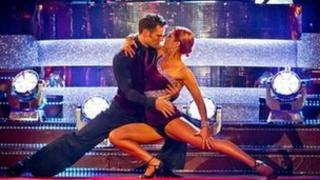 Harry Judd and Aliona Vilani dance the Argentine Tango