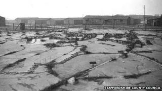 Brocton WWI camp, Staffordshire