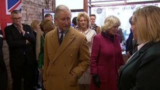 The Prince of Wales and Duchess of Cornwall