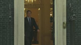 David Cameron leaves No 10 to head to the G20 summit