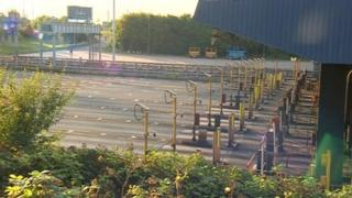 Tolls cleared at Dartford Crossing