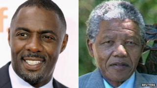 Idris Elba/Nelson Mandela