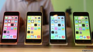 Colourful iPhones