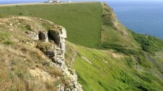 Emmett's Hill near Swanage